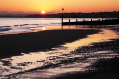 Bournemouth-sunset