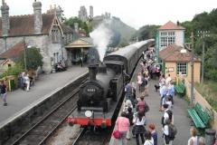 Steam-rail
