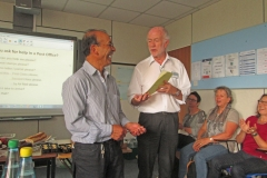 Certificate-presentation
