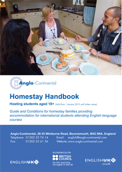 Homestay Handbook for Adults 2019