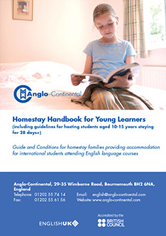 COMING SOON! Homestay Handbook for Young Learners 2017