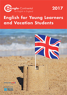 English for young learners and vacation students