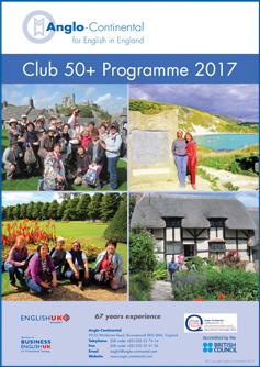 Club 50+ Programme 2017