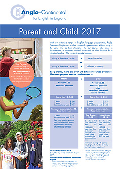 Parent and Child Programme 2017