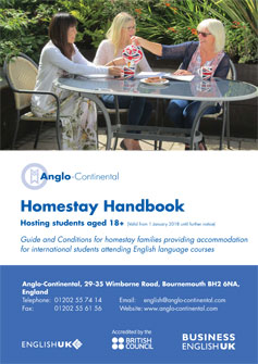 Homestay Handbook for Adults 2017