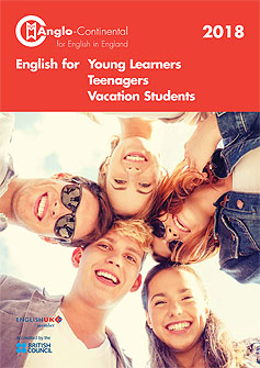 English for young learners, teenagers and vacation students